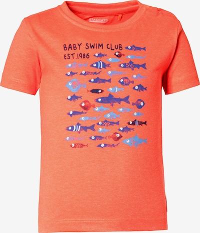STACCATO T-Shirt in blau / navy / lachs, Produktansicht