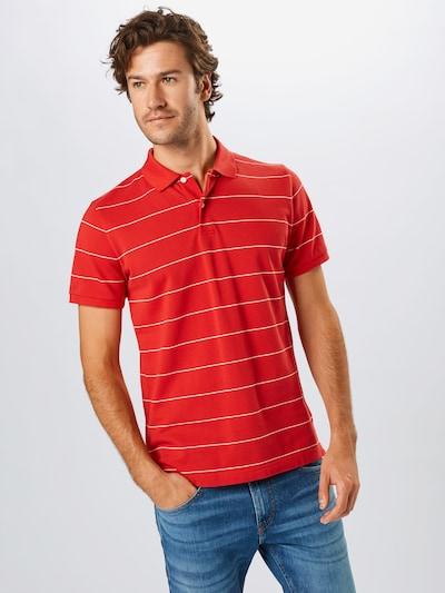 GANT Shirt 'D1.' in de kleur Oranjerood / Wit: Vooraanzicht