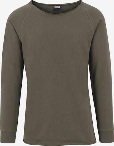 Urban Classics Sweatshirt in de kleur Olijfgroen, Productweergave