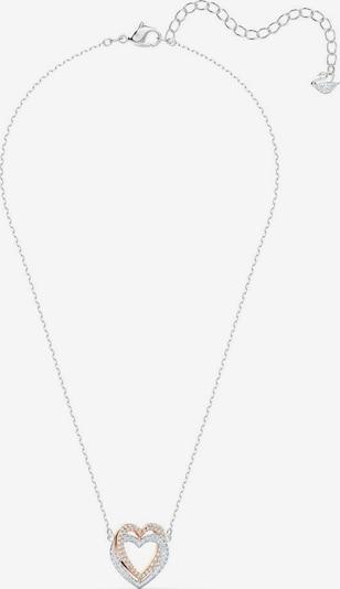 Swarovski Lančić 'Infinity Heart' u zlatna / srebro / prozirna, Pregled proizvoda