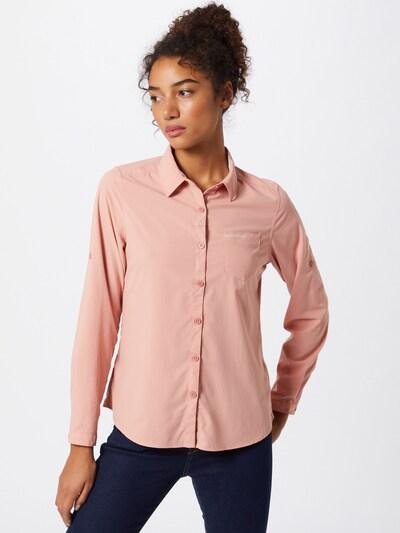 CRAGHOPPERS Bluzka funkcyjna 'NosiLife Bardo' w kolorze różowy pudrowym: Widok z przodu