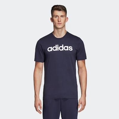 ADIDAS ORIGINALS Shirt in schwarz / weiß: Frontalansicht