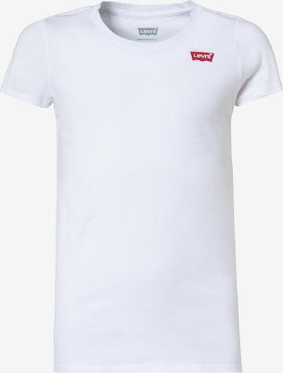 LEVI'S T-Shirt 'Batwing Chest' in feuerrot / weiß, Produktansicht