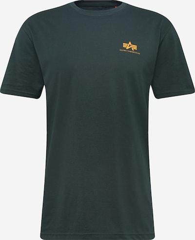 ALPHA INDUSTRIES Shirt 'Small Logo' in petrol, Produktansicht