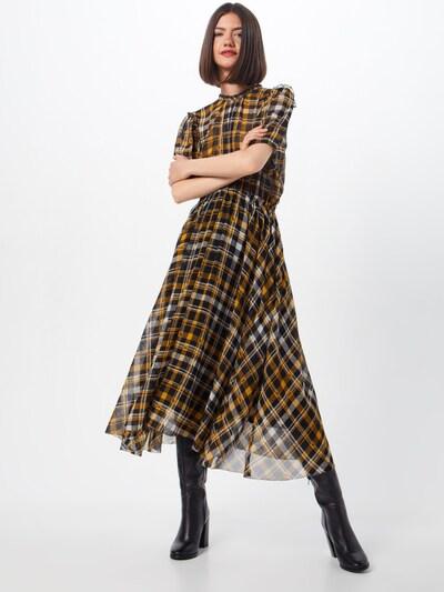 Suknelė 'Brix' iš JUST FEMALE , spalva - geltona / juoda / balta: Vaizdas iš priekio