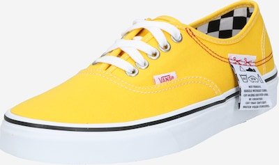 VANS Authentic HC in gelb / weiß, Produktansicht