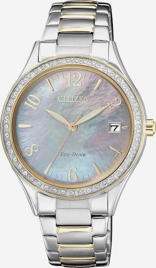 CITIZEN Solaruhr 'EO1184-81D' in opal / gold / silber, Produktansicht