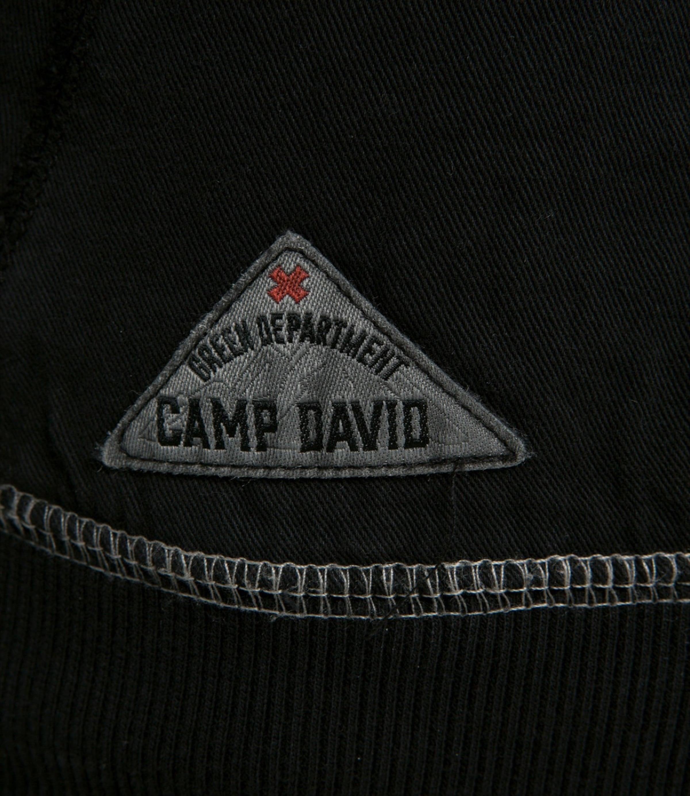 David David Schwarz Pullover In Camp Pullover David Camp Camp Pullover Schwarz In TlKF13uJc