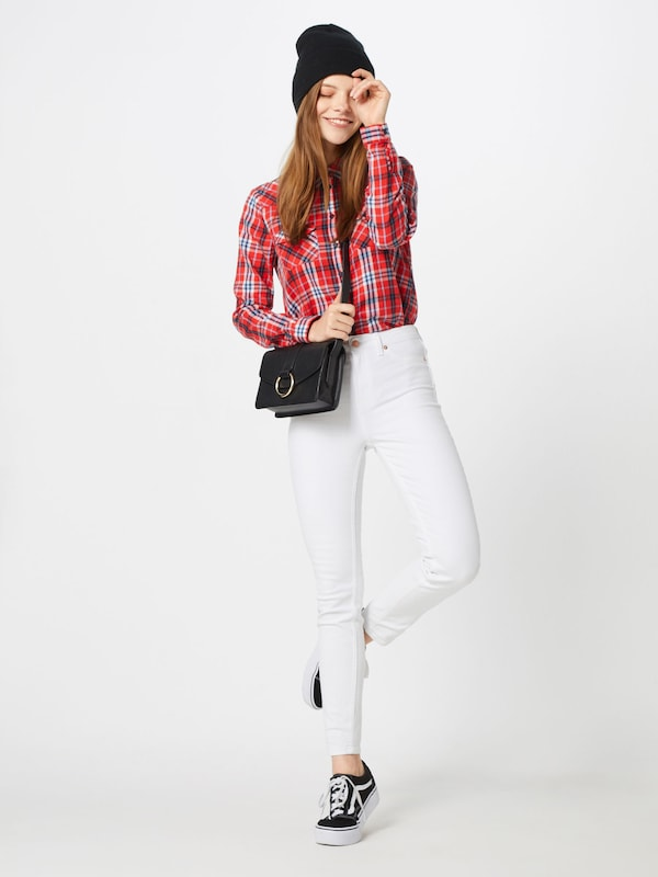 Look Blanc New 'lift Shape En ' Jean And Skinny v0wmNn8O