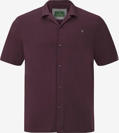 Charles Colby Poloshirt ' Earl Thorley ' in burgunder, Produktansicht