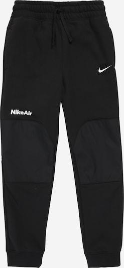 Nike Sportswear Spodnie w kolorze czarny / białym: Widok z przodu