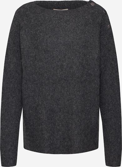 ESPRIT Trui 'sweater struct' in de kleur Antraciet, Productweergave