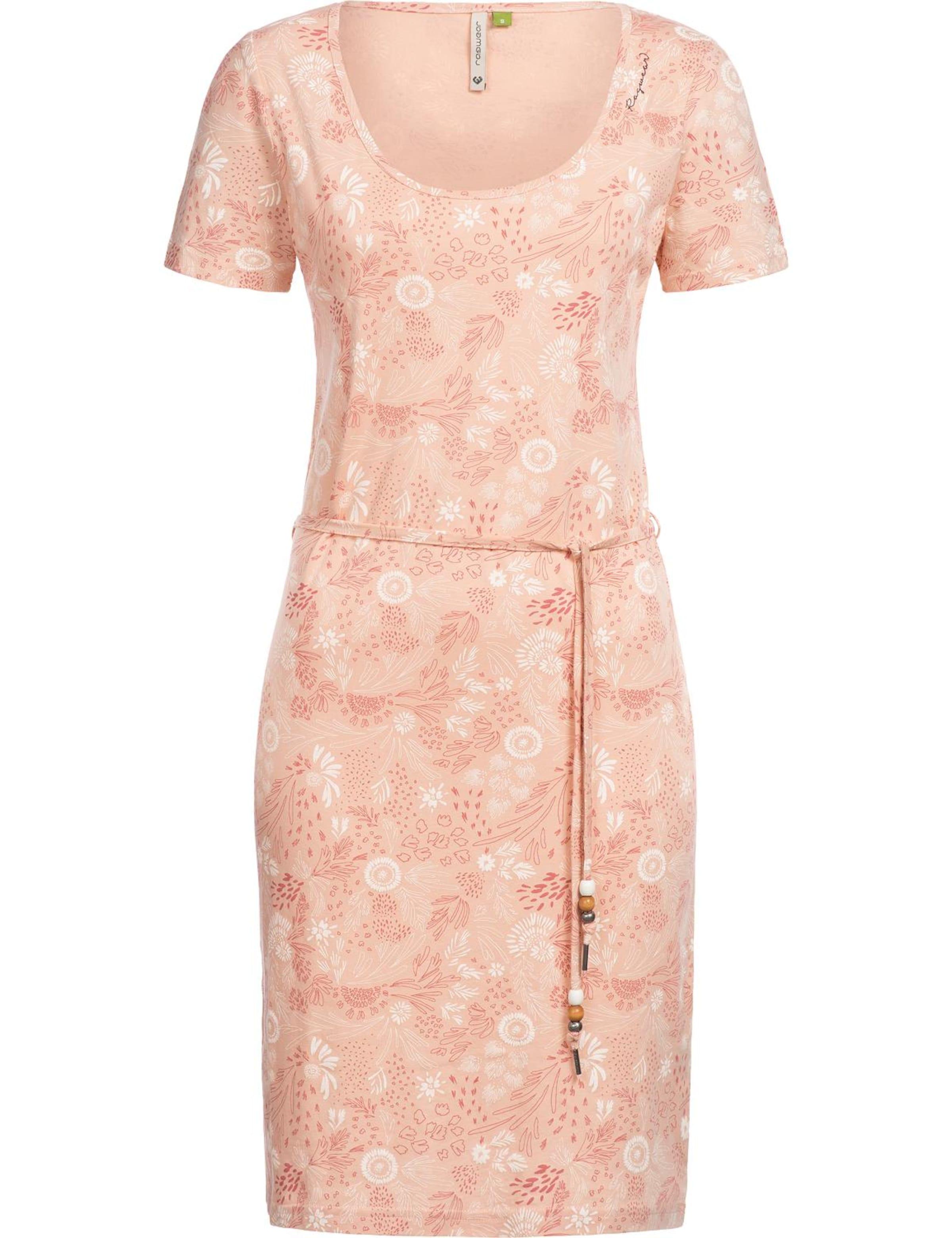 'peliada Ragwear Jerseykleid In Organic' Rosa ynwv0N8mO