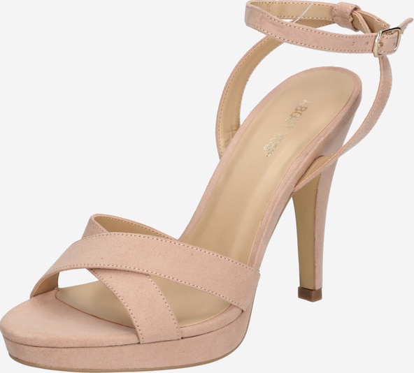 ABOUT YOU Plateau-Pumps 'Valentina' in rosa, Produktansicht
