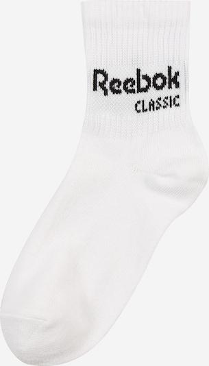 Reebok Classic Chaussettes en noir / blanc, Vue avec produit