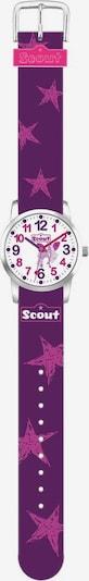 SCOUT Uhr in lila / pink, Produktansicht