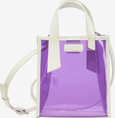 myMo ATHLSR Handtasche in neonlila / weiß, Produktansicht
