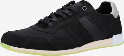 BULLBOXER Sneaker in schwarz: Frontalansicht