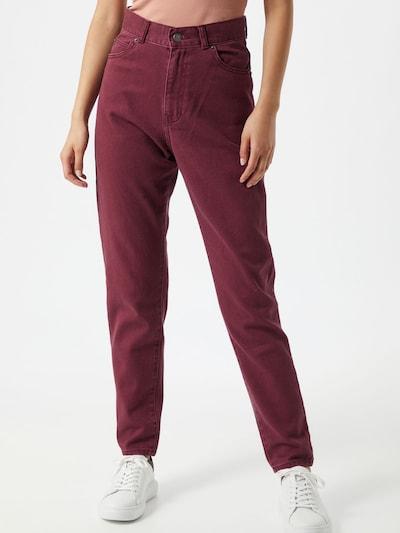 Dr. Denim Jeans 'Nora' in rot, Modelansicht