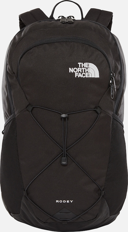 THE NORTH FACE Rugzak 'Rodey' in de kleur Zwart / Wit, Productweergave