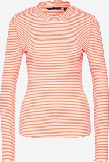VERO MODA Shirt 'ILJA' in koralle / weiß, Produktansicht