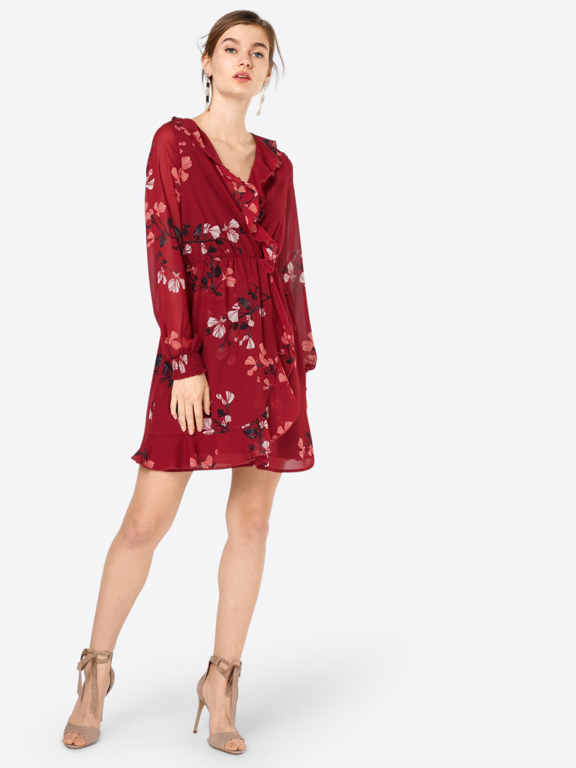 VERO MODA Kleid 'HALLIE FRILL' Billig Verkauf 2018 Neue Verkauf Besten Platz Besuchen Günstigen Preis hqI7kJJ