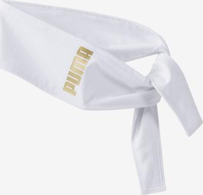 PUMA Bandana in de kleur Goud / Wit, Productweergave