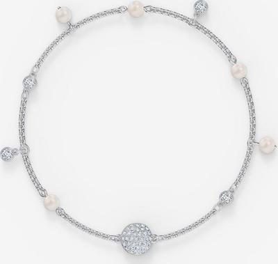 Swarovski Armband in silber / perlweiß, Produktansicht
