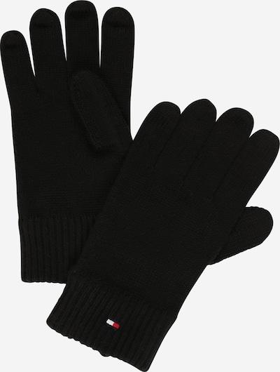 Mănuşi cu degete TOMMY HILFIGER pe negru, Vizualizare produs