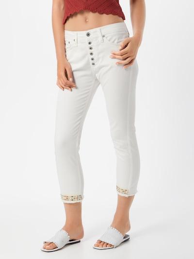 PLEASE Hose in weiß, Modelansicht