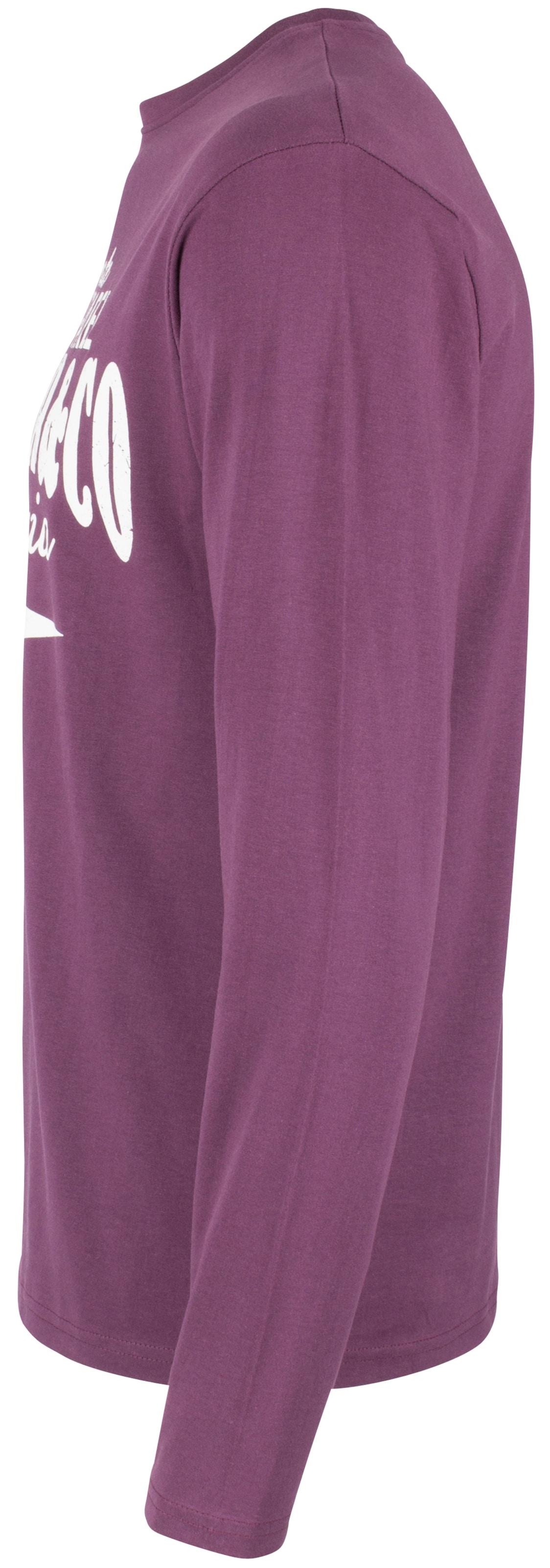 Blanc shirt Soulstar FoncéBourgogne T Violet En TF1lcuKJ53