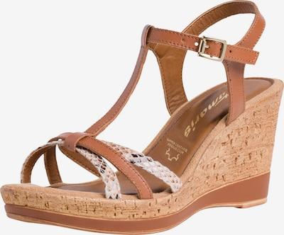 TAMARIS Sandalette in braun, Produktansicht