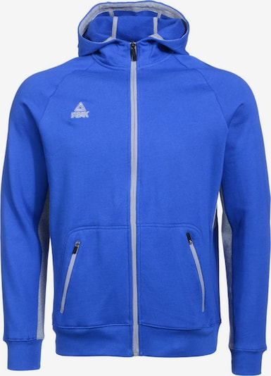 PEAK Sweatjacke in blau, Produktansicht