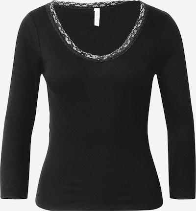 Hailys Shirt 'Lona' in schwarz, Produktansicht