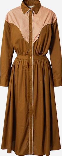 Mes Demoiselles Skjortklänning i brun / rosa, Produktvy