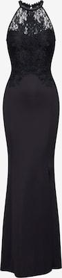 Robe de soirée 'WS BLK EMBR HNK MXI' - Lipsy en noir