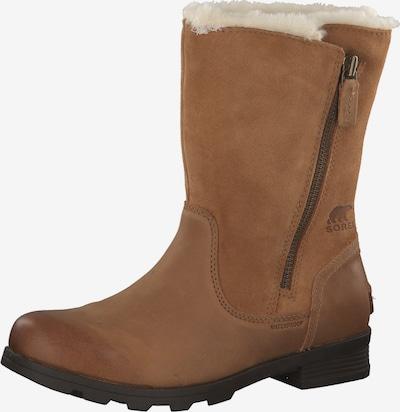 SOREL Škornji 'Emelie Foldover' | rjava barva, Prikaz izdelka