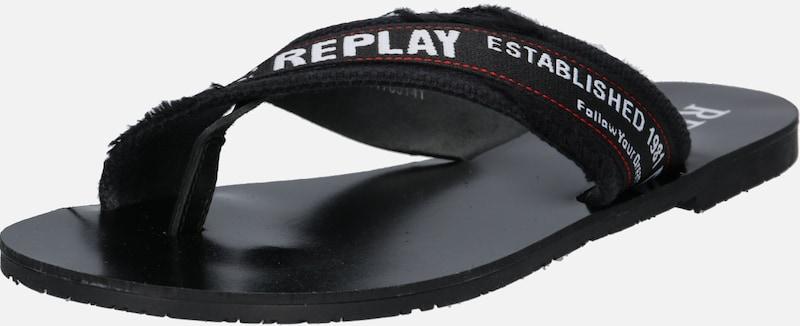 Slipper 'scuba' Schwarz Slipper Replay Replay Slipper Schwarz 'scuba' 'scuba' Replay ARt5wqIx5