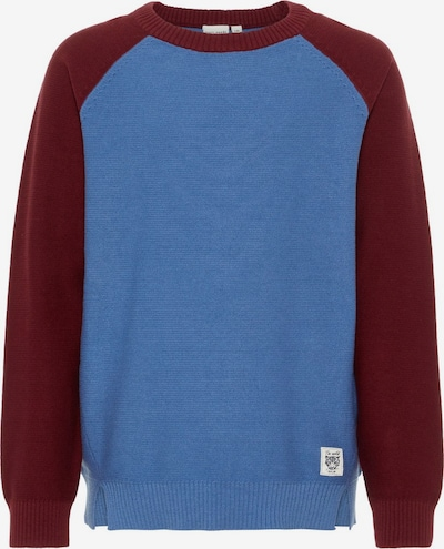 NAME IT Pullover in blau / dunkelrot, Produktansicht
