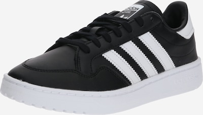 ADIDAS ORIGINALS Sneaker 'Team Court J' in schwarz / weiß, Produktansicht
