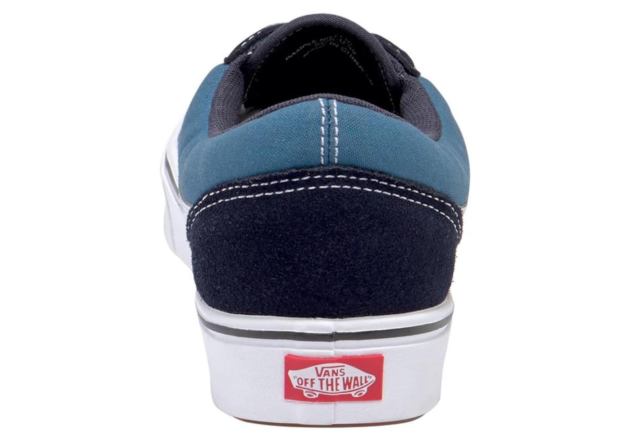 Skool' Weiß NachtblauHimmelblau Vans Sneaker 'comfy In Old Cush 76vYyIbfg