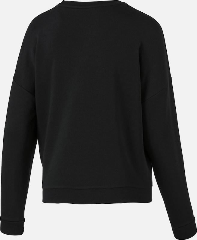 PUMA Sweatshirt in schwarz   weiß  Freizeit, schlank, schlank, schlank, schlank 255bf7
