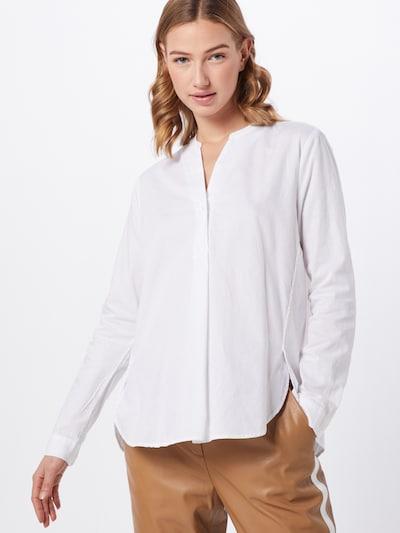 OPUS Tunique 'Fleming diagonal' en blanc, Vue avec modèle