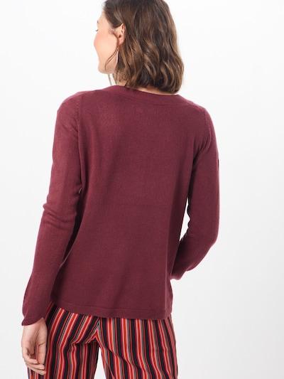 Megztinis 'JESSIE' iš ONLY , spalva - vyno raudona spalva: Vaizdas iš galinės pusės