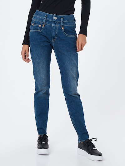 kék farmer Herrlicher Farmer 'Pitch Mom Denim Stretch', Modell nézet