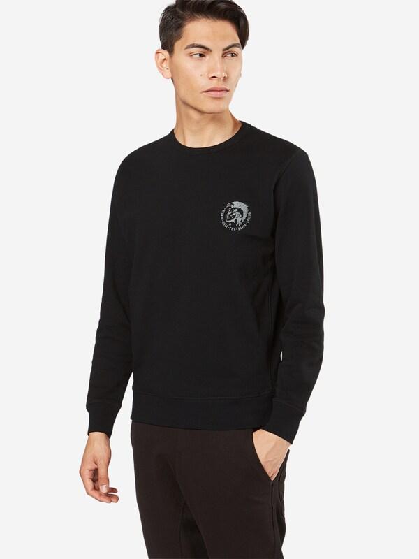 Diesel Sweatshirt Umlt - Willy With Brand-print