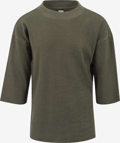 Urban Classics T-Shirt Thermal Boxy Tee in oliv: Frontalansicht
