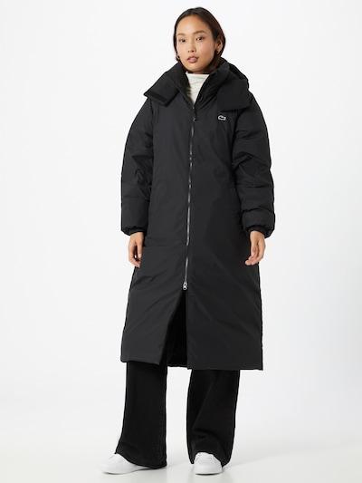 LACOSTE Mantel in schwarz, Modelansicht