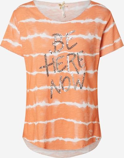 vegyes színek / narancs Key Largo Póló 'NOW', Termék nézet