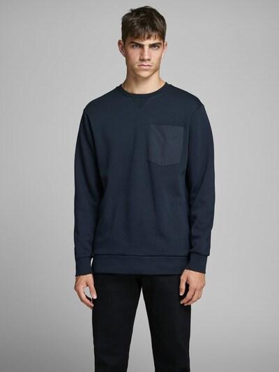 JACK & JONES Sweatshirt in de kleur Nachtblauw: Vooraanzicht